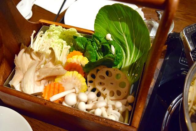 Mixed Veggie Selection at Hot Pot, Chinatown | www.rachelphipps.com @rachelphipps