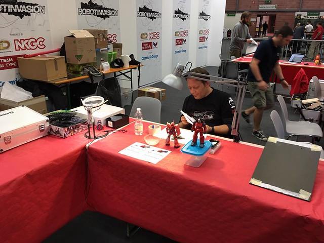 Modena Nerd -Preparativi Robotow