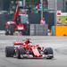 Ferrari F1 car at Singapore Gran Prix