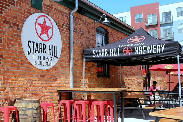 Starr Hill Pilot Brewery Patio