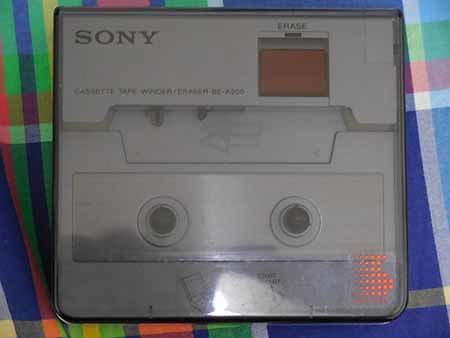 SONY CASSETTE TAPE Winder Eraser BE-A200