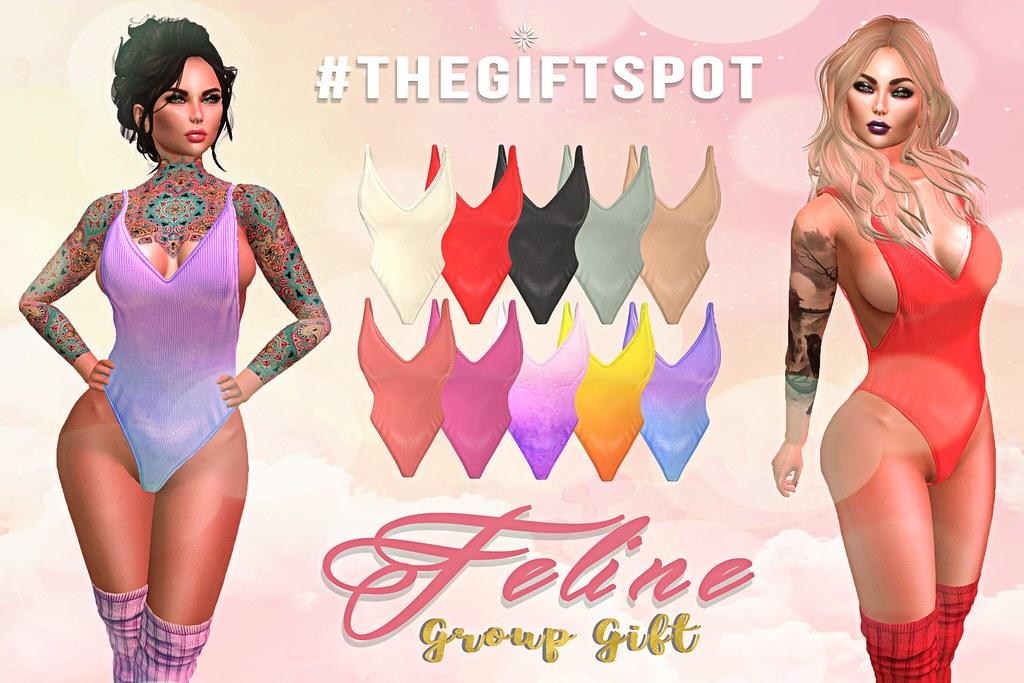 #TheGiftSpot VIP Gift - Feline - TeleportHub.com Live!