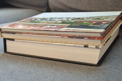 Madison Photo Book thickness compares to some Classic Photo Books