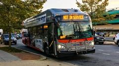 WMATA Metrobus 2016 New Flyer Xcelsior XN40 #2882