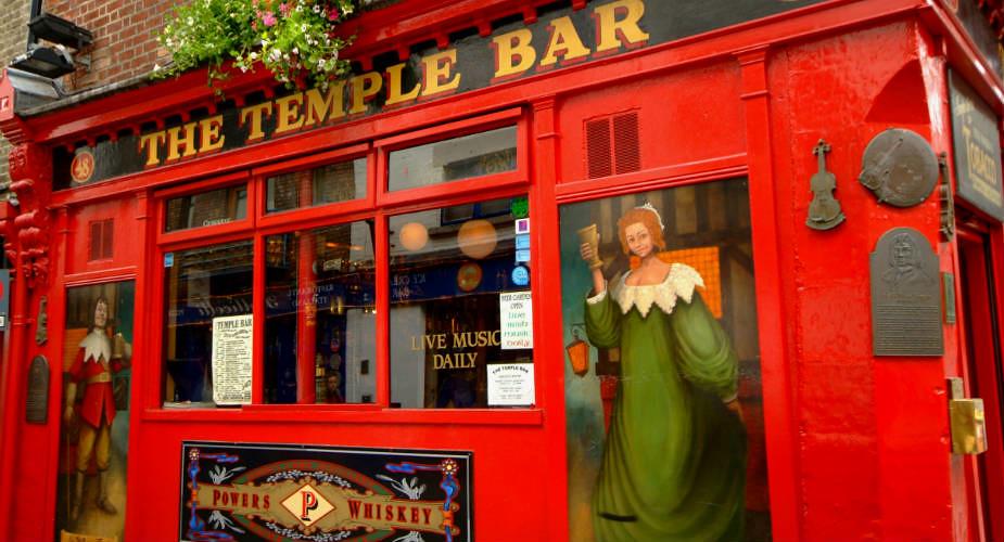 Dublin: in de voetsporen van U2. Temple Bar, Dublin | Mooistestedentrips.nl