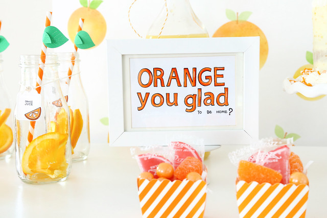 Orange you glad party (for Lawn Fawn)