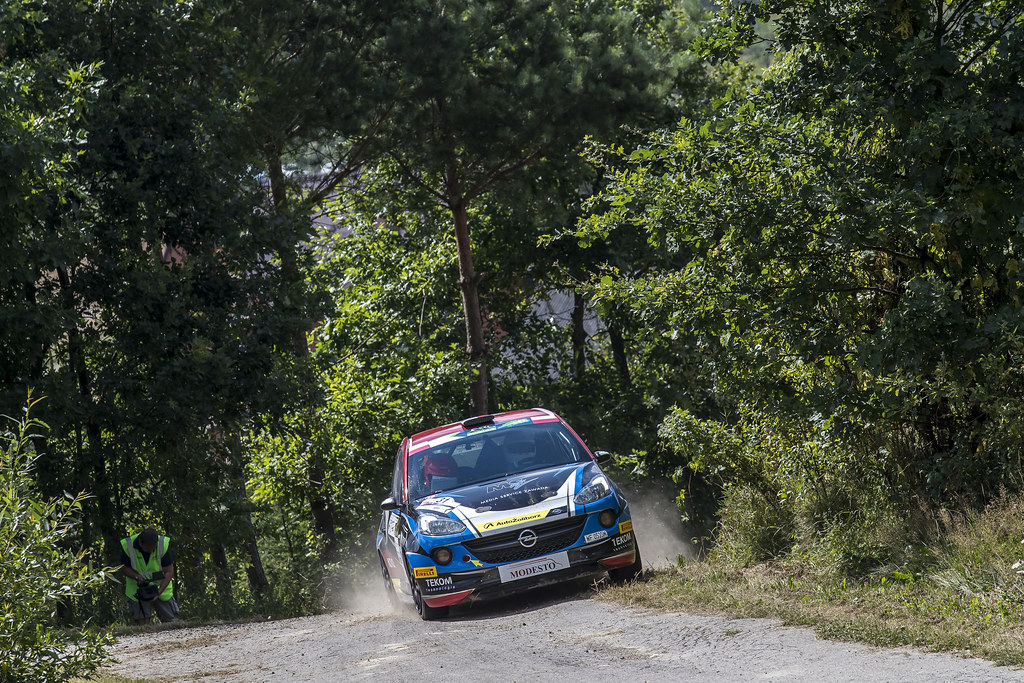 31 ZAWADA Aleksander (POL) DACHOWSKI Grzegorz (POL)  Opel Adam R2 action during the 2017 European Rally Championship Rally Rzeszowski in Poland from August 4 to 6 - Photo Gregory Lenormand / DPPI