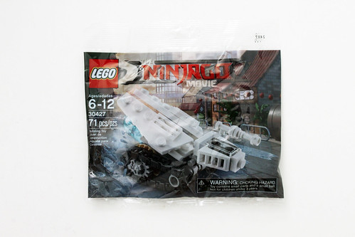 The LEGO Ninjago Movie Ice Tank Polybag (30427)