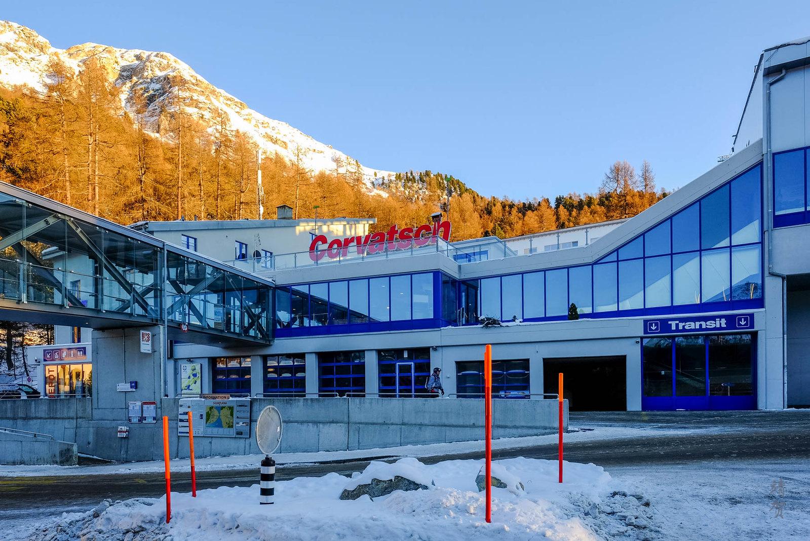 Corvatsch Station at Surlej