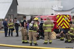 Steveston Paramount Fire - August 12th, 2017