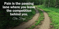 ?Pain is the passing lane where you leave the competition behind you.? - Tim Fargo http://ift.tt/2w4QbbX