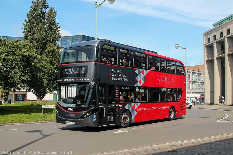 Plymouth Citybus 562 WA17FTV