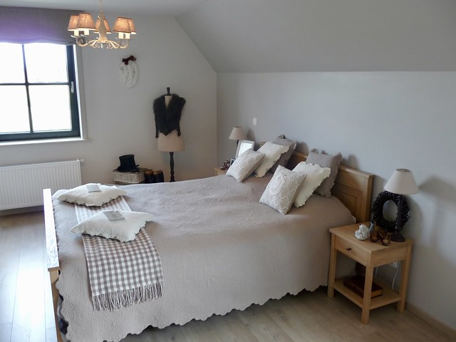 Slaapkamer brocante landelijk
