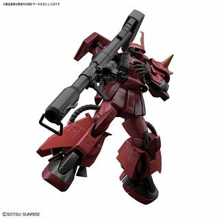吉翁王牌「真紅閃電」歸來!RG 1/144 《機動戰士鋼彈 MSV》MS-06R-2 強尼萊汀專用薩克II(ジョニー・ライデン専用ザクⅡ)