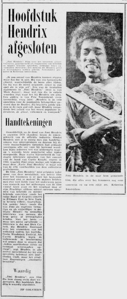 DE TELEGRAF (NETHERLANDS) APRIL 17, 1973