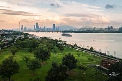 across Han River