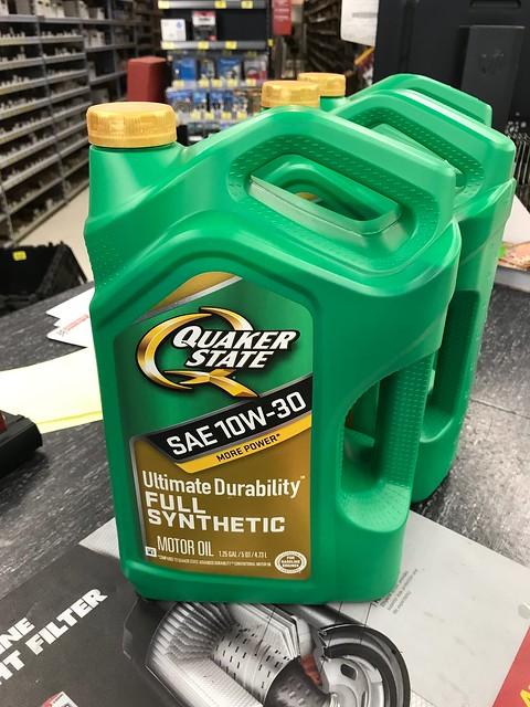 QS full synthetic $8.45/5-quarts 36073432923_1e61890c34_z