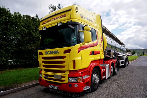 buxtontankers abington scotland sony scania sonya6000 sonyflckraward a6000 truck transport worldtruck yellow scaniar480 yj60evb