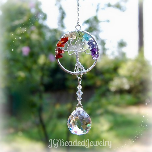Tree of Life Rainbow Suncatcher 1