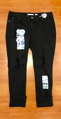 31. 3505 Black Jeans 39.95
