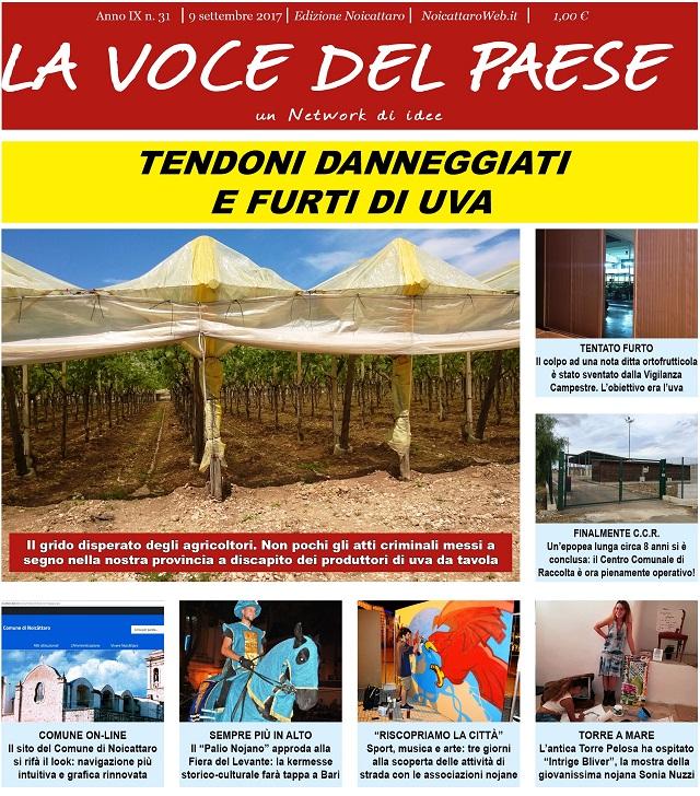 Noicattaro. Prima pagina n. 31-2017 intero
