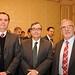 Claudio Maturana, de Salfa Corp; Pablo Guerra, de Soltex y Raimundo Rivera de Echeverría Izquierdo
