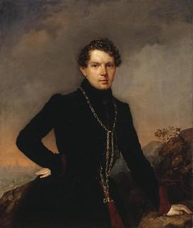 П. З. Захаров. Портрет А. Н. Муравьева. 1838