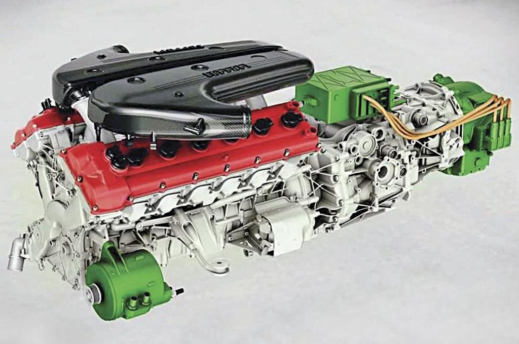 Ferrari engine electrification_2