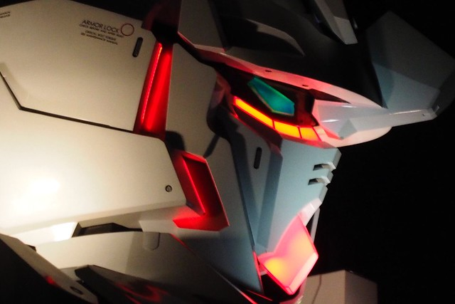 Real Gundam Unicorn Life Size - Completed external works