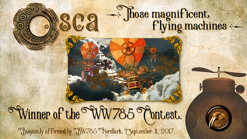 WW785 Certificate for Osca