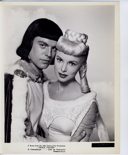 Prince Valiant - Promo Photo 1 -Janet Leigh & Robert Wagner