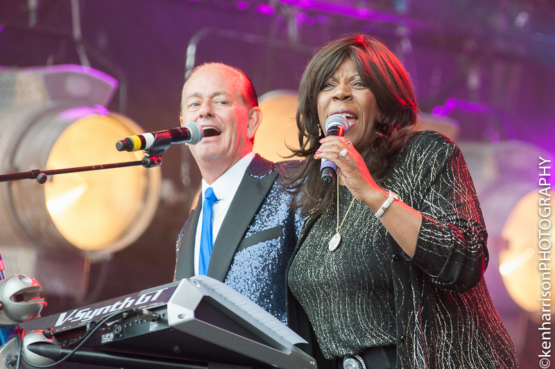 06th August, 2017. Jaki Graham joins BEF at Rewind North, Macclesfield, UK