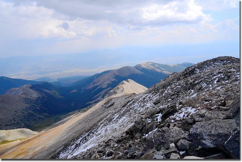 Mount Yale east ridge