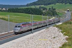 TGV Iris 320 Marche 10810 Mulhouse-Conflans à Saulnot