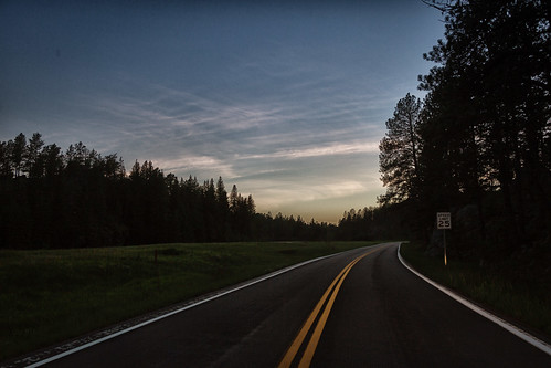 2017 driving evening night privpublic road sign sky speedlimit sunset trees