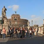 Rome - Ponte Sant'Angelo - https://www.flickr.com/people/133876835@N08/