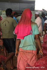 Market workers - Wholesale Fruit & Vegetable Market - Dambulla Sri Lanka