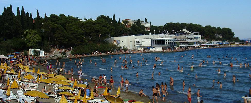 Naar het strand in Split, Kroatië | Mooistestedentrips.nl