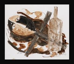 John Lie A Fo, 'Sweri gado', 44x38cm, 2009 - USD 1450