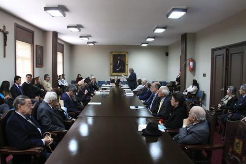 Homenaje al Instituto Caro y Cuervo en la Academia de la Lengua
