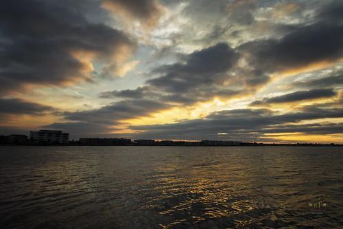 puntagorda puntagordaisles pgi charlottecounty charlotteharbor sunset condos water clouds florida fl beautiful landscape seascape waterscape stevefrazierphotography