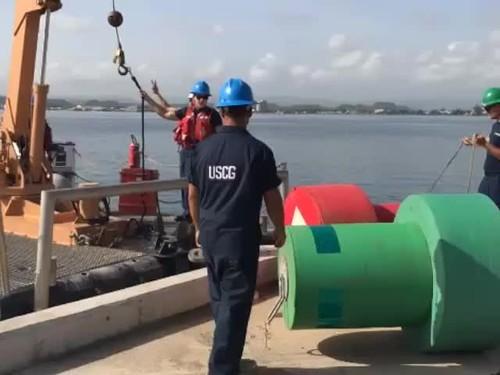 Coast Guard aids to navigation team provides assistance to St. Thomas, U.S. Virgin Islands