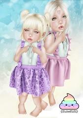 {CuteShit} Purple & Pink