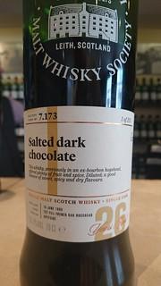 SMWS 7.173 - Salted dark chocolate