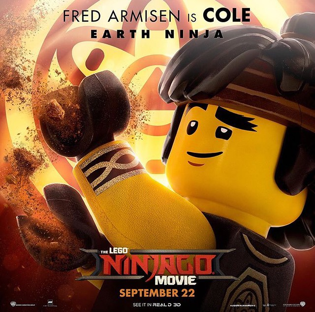 Plakaty postaci z The LEGO Ninjago Movie 2