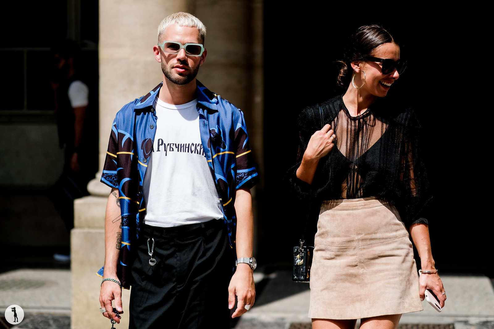 JS and Alice Jaimetoutcheztoi - Paris Fashion Week Menswear SS18 (3)