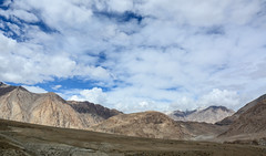 Mountain scenery in Ladakh, Northern India