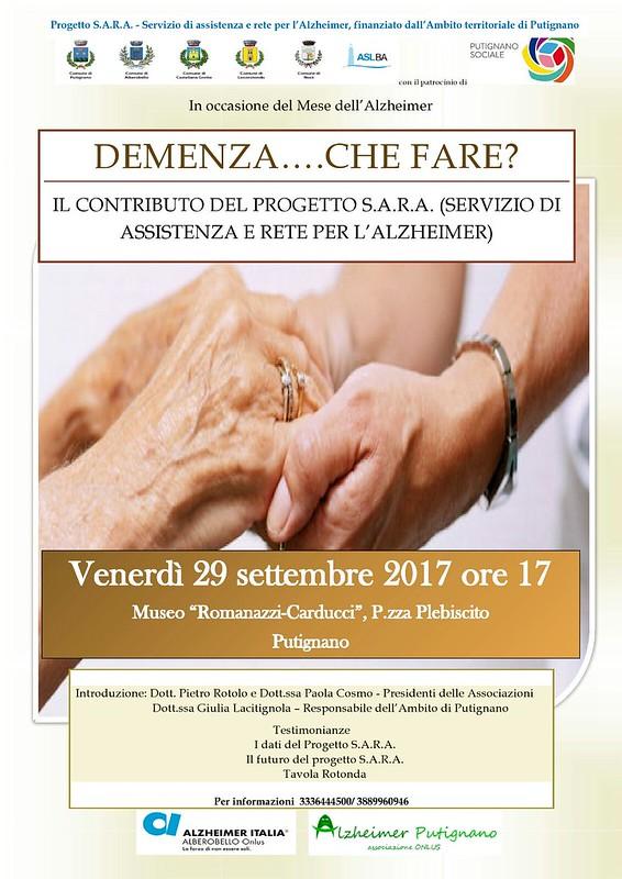 Alzheimer Putignano convegno