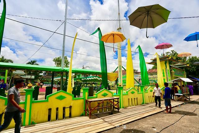 Istana Surya Negara Sanggau (Festival Faradje)