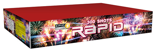 Rapid 300 Shot Fan Cake #EpicFireworks